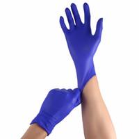 Wholesale Nitrile Rubber Glove - 100pcs Disposable Gloves Nitrile Rubber Gloves For Home Cleaning Disposable Food Household Cleaning Gloves