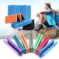 Wholesale cars foam chair online - 38 cm Foldable Outdoor Camping Mat Seat Foam XPE Cushion Portable Waterproof Chair Picnic Mat Dampproof Pad CCA6565