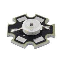Wholesale 1w Emitter - Wholesale- 1W Infrared IR 940NM High Power LED Bead Emitter DC1.4-1.7V 350mA w 20mm Star Platine Base