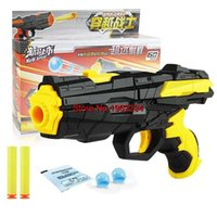 Plastic paintball shooting games - Hot Sale Paintball Water Gun in Air Soft Bullet Gun Pistol Toy For CS Game Shooting Gun Toy