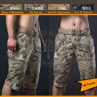 All'ingrosso-ALL camo terreno Shorts Ripstop Army Men Shorts combattimento trainning