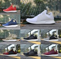 Wholesale Floor Borders - Wholesale NMD X PLR Running Shoes Ultra boost Triple Black white red grey blue Fashion men NMDS X PLR UltralBoost Sports Shoes cheap online