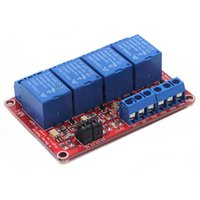 Wholesale Isolation Relays - 12V 4 Channel Relay Module With Optocoupler Isolation Supports High and Low Trigger 4 Road Relay