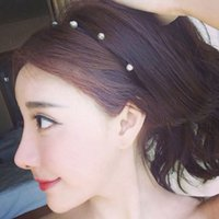 Wholesale Pressure Hair Clips - Pressure Hair Ornaments Broadside Rope Female Face Band To Fine Hoop AAA+ High Quality Fashion Simple