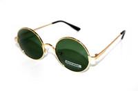 Wholesale Uv Polarised Sunglasses - Wholesale- 2016 Round Retro classical Driver's TAC enhanced polarized polaroid polarised golf fishing UV 400 Men women sunglasses