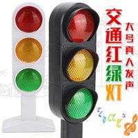 Wholesale New Electric Lamp - 1pcs Time-limited New Trains Slot Kid Juguetes Child Traffic Light Signal Lamp Toy Mini Cars Electric Railway Brinquedos