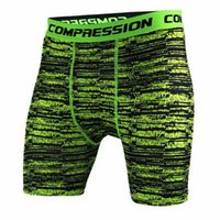 Wholesale Wholesale High Clothes - Wholesale- 2017 Men Compression Shorts Tights High Elasticity Shorts Casual Camouflage Mens Short Homme Brand Clothing