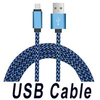 Wholesale micro usb cables cell phone for sale – best Braided Fabric Micro USB Cable M FT M M USB Charging Cable For Samsung Galaxy S7 Edge S6 Edge LG Cell phones