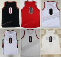 finest selection 40478 b6448 Cheap Damian Lillard Rip City Jersey Black | Free Shipping ...