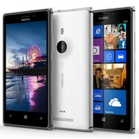 Wholesale 925 Phone - Original Refurbished Nokia Lumia 925 Windows Phone 4.5 inch Dual Core 1GB RAM 16GB ROM 8MP Camera WIFI GPS 3G Unlocked Smart Phone Free Post