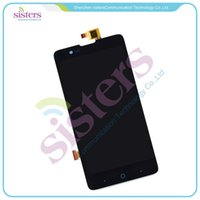 Wholesale Display Zte - Wholesale- Wholesale LCD Display Touch Screen Digitizer Full Assembly For ZTE Red Bull V5 U9180 V9180 N9180 5.0 inch
