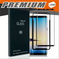 Wholesale Curved Glass Frames Wholesale - For Samsung Galaxy Note 8 S8 S8 plus S7 S6 Edge 3D Curved Full Transparent Tempered glass Screen Protector Full Screen Frame Edge