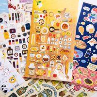 Australia Halloween Children Stickers Cute Cartoon Animals Fruits Sticker  DIY Cellphone Album Notebook Stickers For Kids