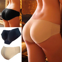 Natural Color padded underwear xl - Women s Padded Seamless Butt Lady Hip Enhancer Shaper Underwear Black Hip Enhance pants Fashion Panties