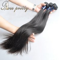 Wholesale Pretty Virgins - Ross pretty good quality peruvian virgin hair grade 7a straight hair bundle unprocessed natural color remy hair