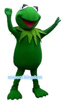 Wholesale Prince Mascot Costumes - The Frog Prince Mascot Costume Fancy Dress Outfit EPE Free Shipping Adult Size