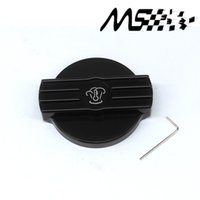 Wholesale Engine Water - Wholesale- New Aluminium Water Tank Cap Black for VW golf 6 GTI rline MK6 CC Scirocco EA888 engine
