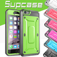 Wholesale Unicorn Beetle Series Iphone - Supcase Case Unicorn Beetle PRO Series Heavy Duty Rugged Cover for iPhone 8 7 plus 6 6S Samsung S6 Edge With Swiveling Belt Clip Holster