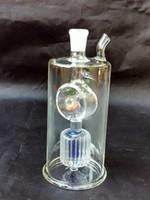 ingrosso olio lanterne di vetro-Lanterne mulino a vento Ganci bong accessori, Tubo per acqua di vetro Pipa Percolator Bong di vetro Bruciatore a olio Tubi di acqua Oil Rigs Smoking