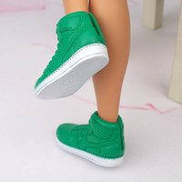 Wholesale Prince Ken Doll - 1Pair Fashion Prince Doll Shoes Sneakers for Ken doll Shoes Male Dolls Accessories For Barbie Boyfriend Baby Toy Shoes Brand New