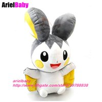 Wholesale Emolga Plush - New Kawaii Emolga Plush Doll Figure Soft Anime Toy Gifts for Children 32cm Brinquedos