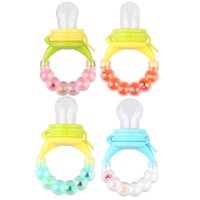 Wholesale Baby Milk Nipple - 1Pcs Baby Pacifier Fresh Food Milk Nibbler Feeder Kids Nipple Feeding Safe Baby Supplies Nipple Teat Pacifier Bottles Nipple