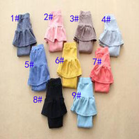 Wholesale Large Tights Pants - 2017 new Large size Children girls Candy colors Leggings Skirt pants baby gTights irls High qulity Pants DHL 9 colors