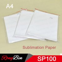 Wholesale Shirts For Sublimation Wholesalers - 100 sheets A4 dye sublimation paper for mugs plates glass rock crystal wood t shirt