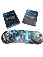Wholesale Discs Films - 2017 Harry Potter The Complete 8-Film Collection 8 Disc Set US Version Boxset Brand New free shipping