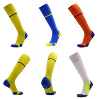 Wholesale ankle skid socks - Stockings Sports Socks Anti Skid Football Sock Towel At The End Stocking Ankle Guard Universal Colorful 11 5ms