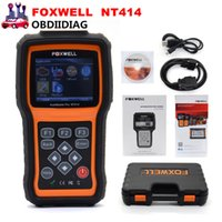 Foxwell NT414 Four System Diagnostic Scan Tool Engine ABS Airbag Reset Universal Automotive Scanner Pas moins cher que Autel MD802