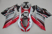 Wholesale New Hot Fairings Kits - top quality New ABS Fairings kits 100% Fit for DUCATI 899 Panigale 1199 12 13 14 15 899S 1199S 2012 2013 2014 2015 bodywork set hot style