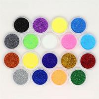mineral göz farı paleti toptan satış-60 Renkler Profesyonel Göz Farı Paleti Makyaj Kozmetik Işıltılı Toz Pigment Mineral Glitter Pul Göz Farı