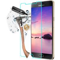 ingrosso s4 protezione mini schermo in vetro-300pcs ultra sottile 9h protezione dello schermo in vetro temperato per Samsung Galaxy S2 / S3 / S4 / S5 / S6 / S3 S4 mini / S5mini / S7562 / i9082 Duos Explosion