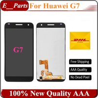 Para Huawei G7 Display LCD + Touch Screen + 100% AAA novo Digitizer Assembly Substituição do painel para Huawei Ascend G7 Phone Fast Frete Grátis