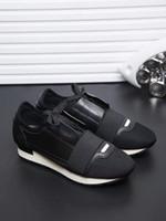 повседневная обувь для гонщиков оптовых-DESIGNER SHOES MENS LUXURY SHOES 2019 НОВЫЙ БРЕНД ДЕШЕВЫЕ КВАРТИРЫ FASHION САЛАЗКИ RACER CASUAL SHOES Womens