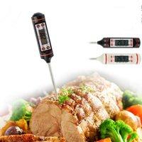 dijital anlık okuma termometreleri toptan satış-Dijital BARBEKÜ Termometre Pişirme Gıda Probe Gıda Termometre Et Termometre Mutfak Anında Dijital Sıcaklık Gıda Probe F201767 Okumak