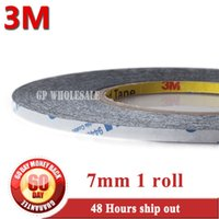 Wholesale 3m 9448 - Wholesale- 2016 (7mm*50M *0.15mm) Double Adhesive Tape for Phone, Tablet, Mini Pad Touch Screen, LCD Glass, Panel Bond, Original 3M 9448 B