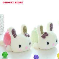 Wholesale Girl Monkey Plush - 20cm Rabbit Dolls Plush Classical Lying Bunny Rabbit Toy Amuse rabbit Kawaii Plush Pillow for Kids Friend Girls