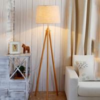 современные торшеры для спальни оптовых-Бесплатный корабль 2017 современный простой гостиной торшер торшер современный минималистский спальня торшер вертикальный Nordic творческий светодиодные лампы