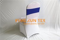 Cheap Price Lycra Spandex Chair Sash \ Lycra Band For Banquet Wedding Chair Cover Decoration Frete grátis