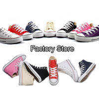 Wholesale Canvas Fabric Yard - new fashion Canvas Shoes Women Men Casual Shoes Classic high style flat shoes 35-44 yard