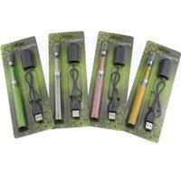 Wholesale Ego Ecigarette Starter Kit - eGo CE5 Blister pack starter kits ecigarette 650mah 900mah 1100mAh 1.6ml CE5 Atomizer eGo T Battery e cigs