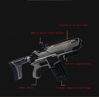 soportes de ángulo negro al por mayor-2017 NUEVO AR-GUN VR Juego de Realidad Aumentada Juegos de Disparo Teléfonos Inteligentes Bluetooth Control Toy Gun Estilo Largo