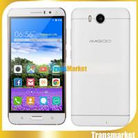 celular ram 512mb venda por atacado-Amigoo X18 2500 mAh Smartphone Original Android 5.1 MT6580 Quad Core Telefone Celular 5.5 Polegada 512 MB de RAM 8G ROM Dual sim celular