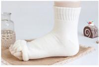 Wholesale Toes Alignment Socks - Hot -Comfy Toes Sleeping Socks Massage Five Toe Socks Happy Feet Foot Alignment Socks Foot Treatment