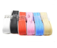Wholesale Types Cell Phones Cables - 1.5m Universal Micro USB Phone Cable for Android Cell Smart Phone Iphone 7 6s