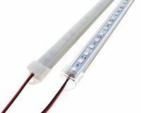 Wholesale Led Rigid Bar Ip65 - LED Bar Light 5050 50cm IP65 SMD 36LED LED Rigid Strip Swimming Pool DC 12V