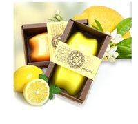 Wholesale Natural Whitening Soap - Factory direct custom wholesale wholesale natural lemon Thai pure handmade soap whitening moisturizing moisturizing essential oil soap
