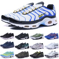 Wholesale Tn Sneakers - 60 Colors Wholesale High Quality Hot Sale TN Men's Running Sport Footwear Sneakers Trainers Shoes size 7-12